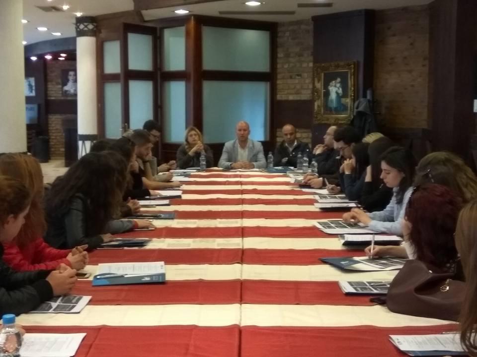 """Forum dhe Vizitë Studimore në Tiranë: """"Ndërgjegjësim mjedisor: Diskutim praktik i zbatimit të ligjit të mjedisit për studentët e rinj"""""""